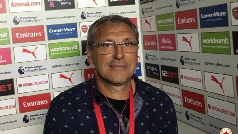Бившият футболист на ЦСКА Стефан Драганов днес става на 54