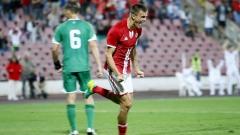 Капитанът на ЦСКА ще играе за дубъла
