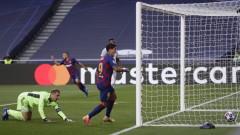 Барселона - Байерн (Мюнхен) 2:5, Кимих също се разписва във вратата на каталунците