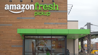 На фона на пандемията Amazon започна изграждането на верига за хранителни стоки