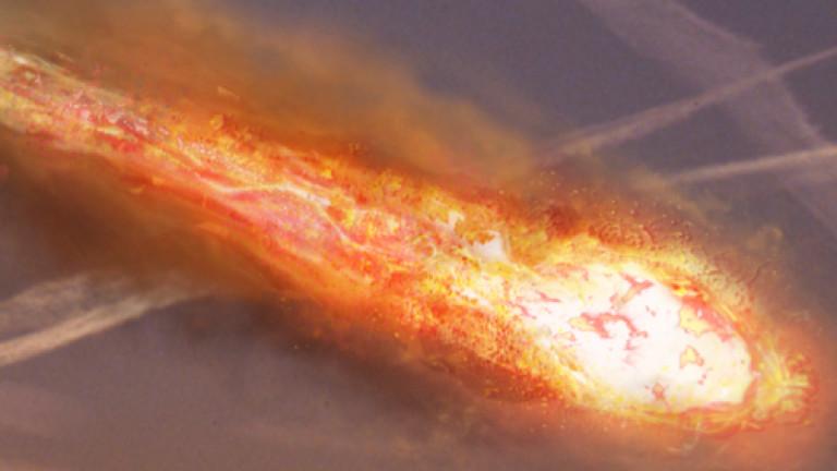 Метеорит избухна над Хърватия