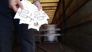 20 палета с опаковки за цигари задържаха на Дунав мост 1