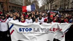 """""""Червените шалове"""" се опълчиха на """"жълтите жилетки"""" във Франция"""
