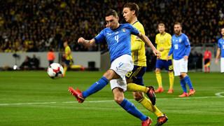 Швеция - Италия 1:0 (Развой на срещата по минути)