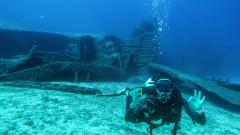 Как мъж оцеля три денонощия в потънал кораб