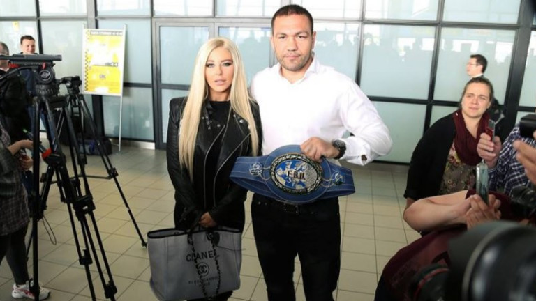 Кубрат Пулев и Андреа отново са заедно