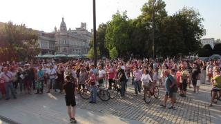 Протест в Бяла срещу намалената присъда за убийството на 18-годишния Алекс