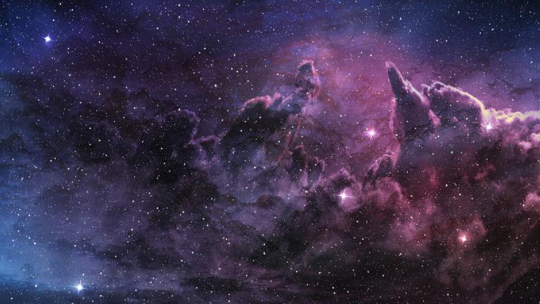 Когато в ясна нощ погледнем към небето, то е обсипано