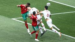 Мароко измъчи Португалия, Роналдо отново герой!