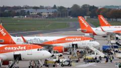 Загубите на EasyJet могат да достигнат £380 милиона, след спирането на полетите