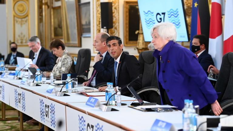 Г7 договори 15% глобален корпоративен данък