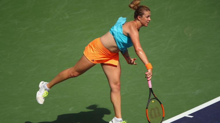 Анастасия Павлюченкова се класира за 1/4-финалите на Australian Open 2019.