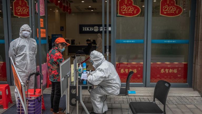 Китайските власти съобщиха, че днес е една седмица от последния