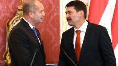 Радев обсъди с унгарския си колега бързото преодоляване на кризата