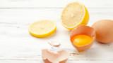 Лимонът - тайната на перфектните яйца