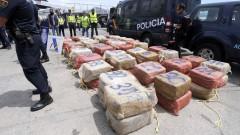 Испания задържа 8 тона кокаин