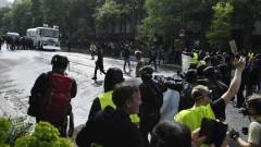 """15 500 """"жълти жилетки"""" на протест във Франция"""