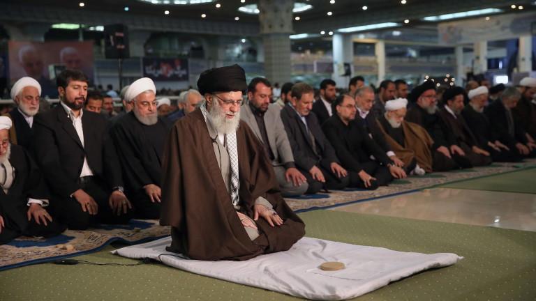 Върховният водач на Иран аятолах Али Хаменеи заклейми като