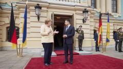Русия скастриМеркел за коментарите ѝ в Киев относно конфликта в Украйна