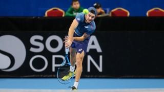 Габриел Донев на 1/2-финал на двойки в Питещ