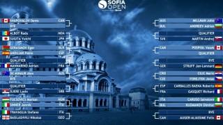 Вижте схемата на Sofia Open 2020