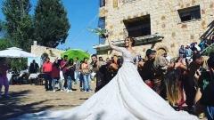 Диетоложката Енджи Касабие се омъжи (СНИМКИ)