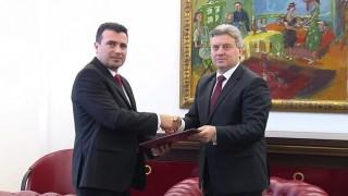 Президентът на Македония връчи мандат на Заев за съставяне на правителство