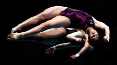 Азиатки грабнаха медалите в синхронните скокове на световното в Будапеща