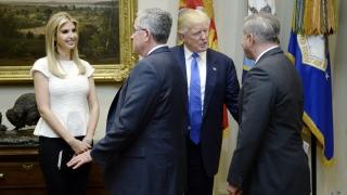 Иванка Тръмп с офис в Белия дом