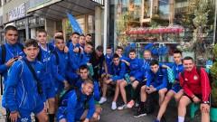 Юношите на ЦСКА бият наред в Швеция, но със син екип и друго име