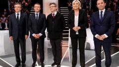 Близо 10 млн. французи са гледали първия президентски дебат
