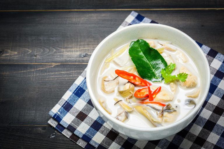 Супа с кокосово масло