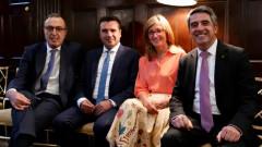 Захариева критикува ЕС в САЩ: Мислят само за вътрешнополитическите си проблеми