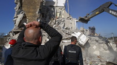 Жертви и разрушения след 6, 4 по Рихтер в Албания