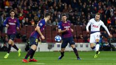 Миролюбив хикс с Барселона остави Тотнъм в Шампионска лига!