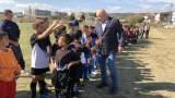 Министър Кралев се включи в редица спортни събития във Варна