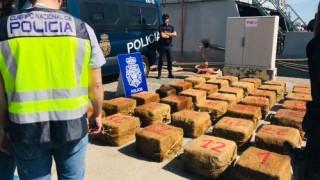 Българин сред екипажа на кораб с 1.5 тона кокаин