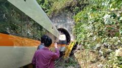 Тежка катастрофа на влак със загинали в Тайван
