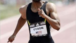 Тайсън Гей бяга по-бързо от световния рекорд