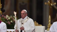 Папа Франсис определи сляпото насилие, като тежка обида към Твореца