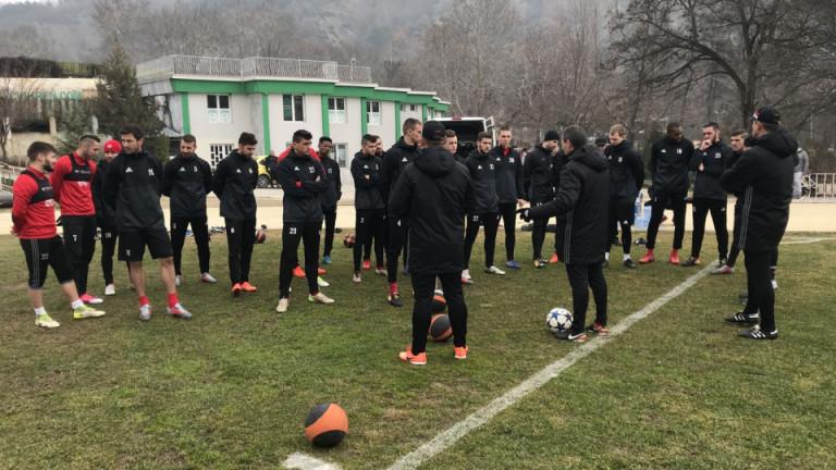 Старши треньорът на ЦСКА - Стамен Белчев определи групата от