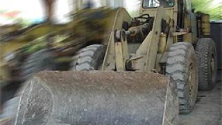 Фадрома затисна мъж край сметище край Кюстендил