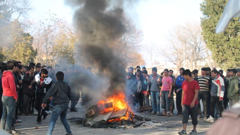 100 000 лв. са щетите в бежанския център в Харманли