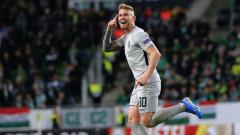 Феновете от България могат да подкрепят Форстър за Играч на кръга в Лига Европа