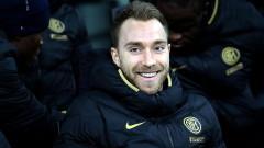 Ериксен впечатлен от магията на голямото дерби между Интер и Милан