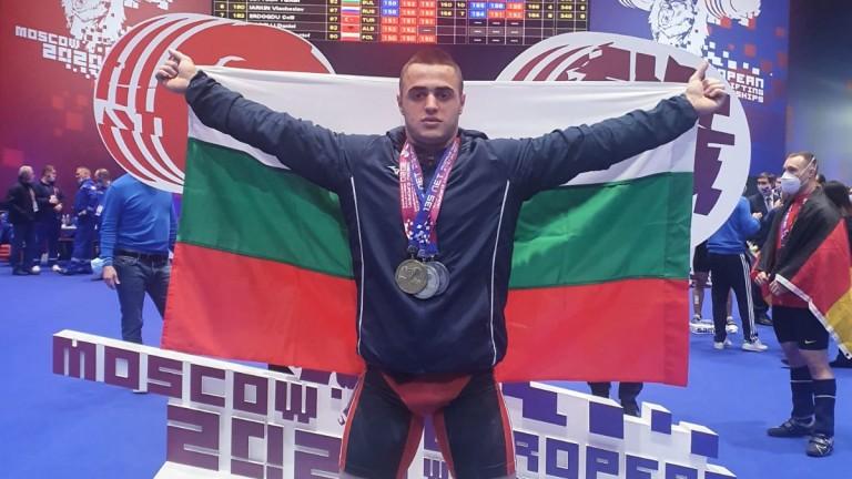 Нов, шести медал: сребро за България на европейското по щанги