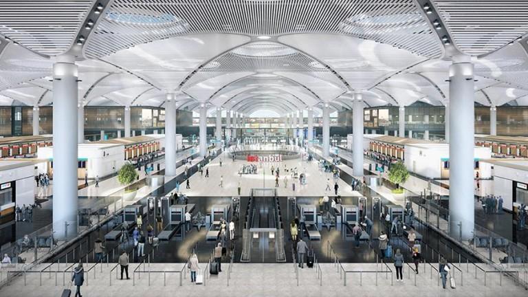 Снимка: Ердоган открива един от мегапроектите си: Летището за €10 милиарда, което ще стане най-голямото в света
