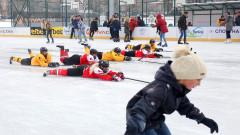 Първата ледена пързалка отвори врати в София