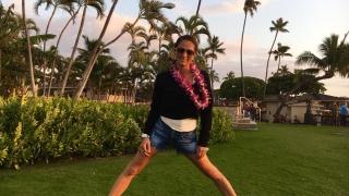 Симона Пейчева отиде на Хаваите (СНИМКИ)