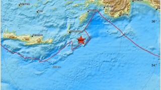 Земетресение 5 по Рихтер в Гърция